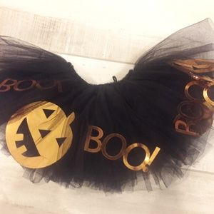 🎃Mud Pie black tulle tutu